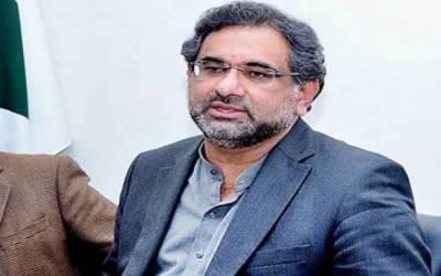 سیاسی گرفتاریاں جمہوریت کوتباہ کرتی ہیں،شاہد خاقان عباسی