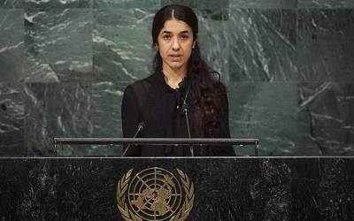 '' میں نے داعش کے اُس کارکن کے آگے ہاتھ جوڑے کہ مجھے خرید لے کیونکہ۔۔۔ '' داعش کی قید سے بھاگنے والی لڑکی کو نوبل امن انعام دے دیا گیا ، جنسی غلام بننے کے لئے آدمی کے سامنے گڑگڑاتی کیوں رہی؟ جان کر آنسو نہ رکیں