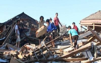 انڈونیشیامیں زلزلے سے ہونے والی ہلاکتیں1600سے تجاوز،تلاش کا عمل جاری