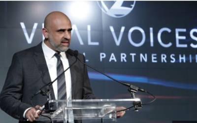 سلمان صوفی نے مدر ٹریسا ایوارڈ2018 جیت لیا
