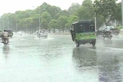 آیندہ 24 گھنٹوں کے دوران ملک کے مختلف علاقوں میں بارش کی پیشگوئی