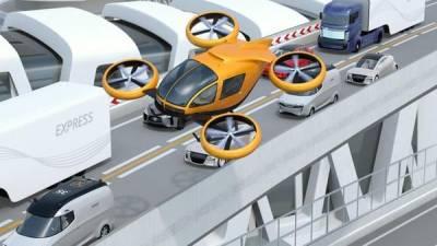 جاپان میں اڑنے والی خود کار کاروں کے روٹ کے میپ تیار