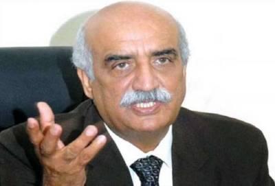 مسلم لیگ ن کا خورشید شاہ سے رابطہ ، پارلیمنٹ کے باہر اجلاس میں شرکت کی دعوت