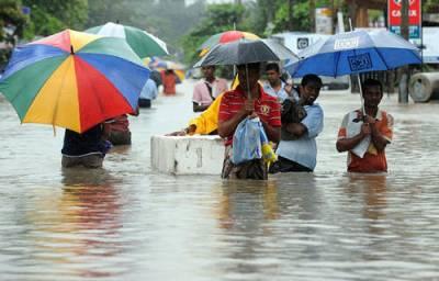 سری لنکا، بارشوں اور سیلاب کے باعث 9 افراد ہلاک، ہزاروں بے گھر