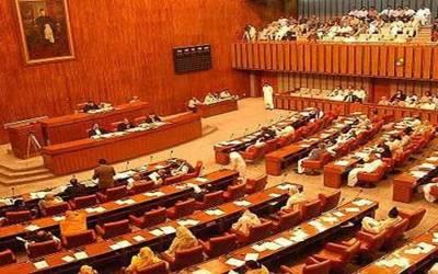 سینٹ اجلاس، مشاہد اللہ خان اور فواد چودھری میں پھر تلخ کلامی