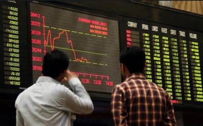پاکستان سٹاک ایکسچینج میں مندی کا رجحان،393.79 پوانٹس کی کمی کے ساتھ 38398.30 کی سطح پر بند