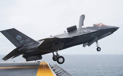 امریکا نے جدید ترین ایف 35 لڑاکا طیارے گراؤنڈ کر دیے