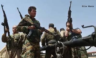 داعش کے900 غیرملکی جنگجو شام میں کرد فورسز کے قبضے میں ہونے کا دعویٰ