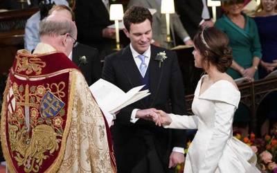ملکہ برطانیہ کی پوتی شہزادی یوجین رشتہ ازواج میں منسلک