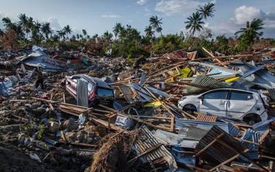 'میں نے دیکھا چاروں طرف زمین کھلنے لگی اور۔۔۔' قیامت کا منظر کیسا ہوتا ہے، انڈونیشیا کے سونامی میں زندہ بچ جانے والی خاتون نے آنکھوں دیکھا حال سنادیا