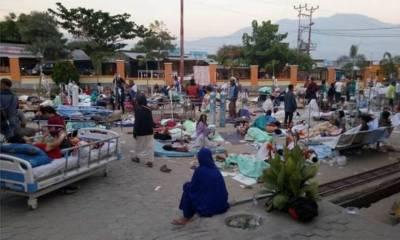 زلزلہ زدگان کے لئے چینی امداد کی پہلی کھیپ انڈونیشیا پہنچ گئی