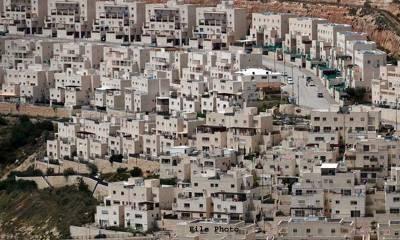 اسرائیل میں یہودیوں کے لئے گھروں کی تعمیر کا اعلان