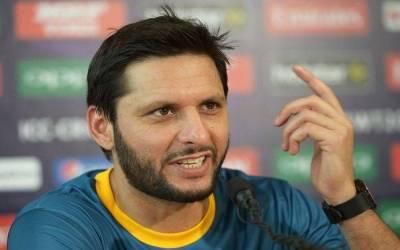 قومی ٹیم کو سو فیصد نتیجے پر بہت مبارکباد پیش کرتا ہوں،شاہد آفریدی