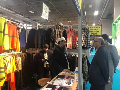 """20 پاکستانی کمپنیوں کی پیرس میں منعقد ہونے والی """"ایکسپو پروٹیکشن"""" میں شرکت"""