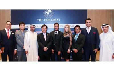 ڈپلومیٹک بزنس کلب دبئی کی پروقار تقریب، 30 ممالک کے سفارت کار اور تاجروں کی شرکت
