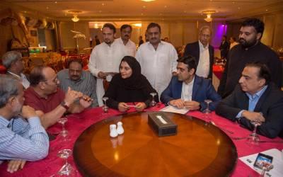 پارلیمانی سیکرٹری جویریہ ظفر نے جدہ میں تحریک انصاف اور پاکستانی کمیونٹی ممبران سے ملاقات