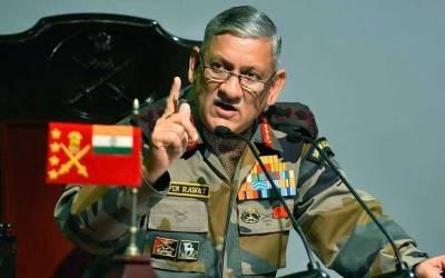 بھارتی فوجی سربراہ جنرل بپن راوت کو بڑھک مارنا مہنگا پڑ گیا ،سکھوں کی بڑی تنظیم نے خوفناک دھمکی دے دی