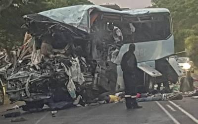 زمبابوے میں خوفناک ٹریفک حادثہ ، 48 افراد ہلاک ،80 زخمی
