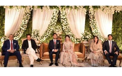 آرمی چیف کے صاحبزادے سعد صدیق باجوہ کی تقریب ولیمہ، وزیراعظم سمیت اہم شخصیات کی شرکت