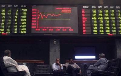 پاکستان اسٹاک مارکیٹ میں مندی کا رجحان