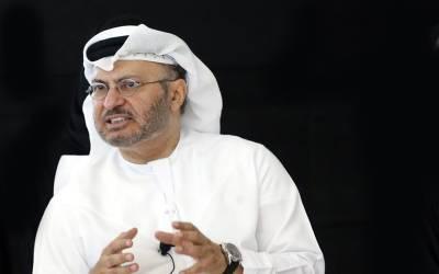 قطر نے بحران کے حل کا موقع گنوا دیا ،سعودی عرب کے خلاف قطری میڈیا مہم عقل و دانش سے عاری ہے:یو اے ای وزیر خارجہ انور قرکاش