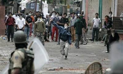 آپریشن کی آڑ میں بھارتی فوج نے مقبوضہ کشمیر میں بارودی مواد سے گھرا ڑا دیئے