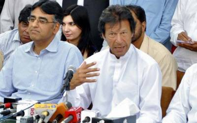عمران خان اور اسد عمر رنگے ہاتھوں پکڑے گئے