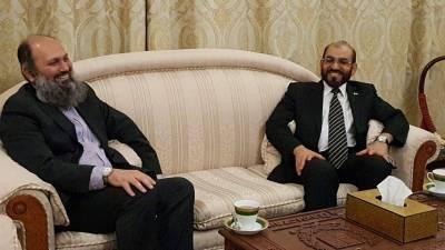 جمام کمال خان کا دورہ روس ، ڈاکٹر جمعہ مری سے ملاقات ، چینی قونصل خانے پر حملہ کا معاملہ پورپی یونین کی پارلیمنٹ میں اٹھانے پر اتفاق