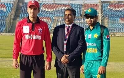 ایمرجنگ ایشیاءکپ میں پاکستان اور ہانگ کانگ کے میچ کا فیصلہ ہو گیا