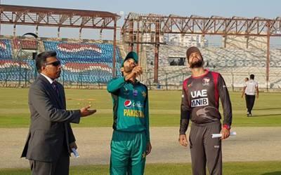 ایمرجنگ ایشیاء کپ، پاکستان اور متحدہ عرب امارات کے درمیان جاری میچ کا فیصلہ ہو گیا