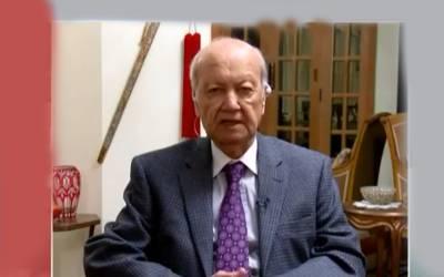 امریکہ چاہتا ہے کہ جلد سے جلد طالبان سے معاہدہ ہوجائے،بھارت افغانستان میں بہت مداخلت کرتا ہے:جنرل (ر)طلعت مسعود