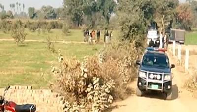 قصور میں قتل کی لرزہ خیزواردات، مرد اور خاتون کی لاشیں درخت سے لٹکادی گئیں