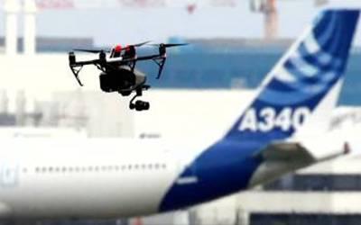 لندن ایئرپورٹ کے قریب ڈرون اڑانے والا گرفتار