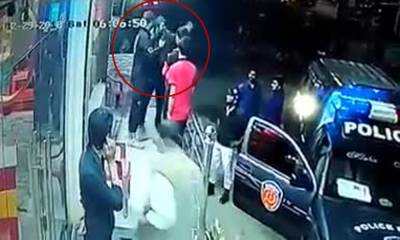 ہوٹل کے گارڈ نے کراچی پولیس کے اہلکاروں کو موبائل ہٹانے کی ہدایت کردی لیکن پھر کیا ہوا؟ ویڈیو نے انٹرنیٹ پر طوفان کھڑا کردیا