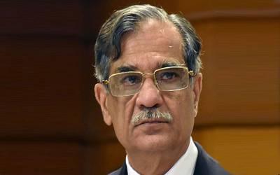 چیف جسٹس پاکستان نے حکومت اور اپوزیشن کو جعلی بینک اکاﺅنٹس کیس پر تبصرے سے روک دیا