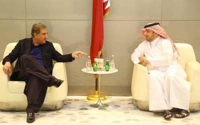 شاہ محمود کی دوحہ میں اپنے ہم منصب سے ملاقات، بڑی تعداد میں پاکستانیوں کو ملازمتیں دینگے، قطری وزیرخارجہ