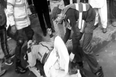 لاہور کی سیشن کورٹ کے باہر فائرنگ، پیشی پر آیا شہری زخمی