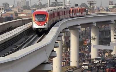 اورنج لائن منصوبہ؛ تعمیراتی کمپنیوں کو ایک ارب روپے کی ادائیگی کا حکم