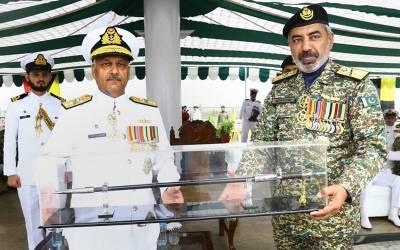ریئر ایڈمرل فیاض جیلانی نے سربراہ پاکستان نیوی کوسٹل کمانڈ کی ذمہ داریاں سنبھال لیں