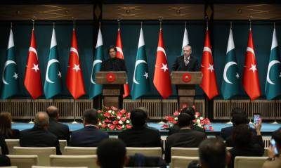 پاکستان داعش کیخلاف جنگ میں ترکی کے ساتھ ہے: وزیراعظم عمران خان