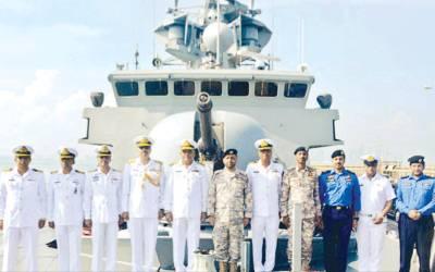 پاک بحریہ، میری ٹائم سکیورٹی کے جہازوں کا قطری بندرگاہ کا دورہ' مشترکہ مشقوں میں حصہ لیا