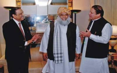 زرداری اور نواز شریف میں دوریاں ختم کرانے کی کوشش،مولانا فضل الرحمان ایک بار پھر متحرک