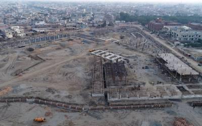 ایل ڈی اے کا میگا پراجیکٹ ''پارک اینڈ شاپ ایرینا'' شدید بد انتظامی کا شکار ہوگیا