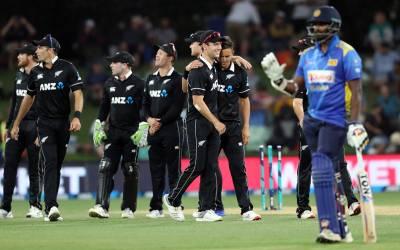 نیوزی لینڈ نے دوسرے ون ڈے میں سری لنکا کو 21 رنز سے شکست دے دی