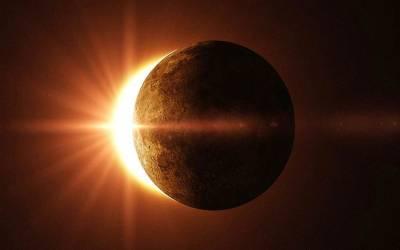 سال نو کا پہلا سورج گرہن آج ہو گا،پاکستان میں نہیں دیکھا جا سکے گا