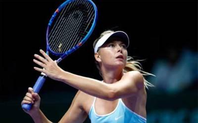 ماریا شرا پووا کی فٹنس مسائل کے باعث آسٹریلین اوپن ٹینس ٹورنامنٹ میں شرکت مشکوک