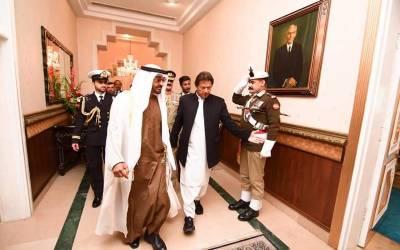 پاک یو اے ای تجارت میں اضافے کیلئے ٹاسک فورس قائم کرنے کا فیصلہ: شیخ محمد بن زید کے دورہ پاکستان کا اعلامیہ