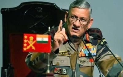بھارتی فوج کے سربراہ نے طالبان سے مذاکرات کی حمایت کردی