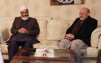 افغانستان میں امن کی کنجی افغانوں کے ہاتھ میں ہے:سینیٹر سراج الحق