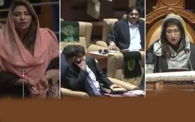 ''مولوی صاحب دعا کرائیں کہ جس جس نے کرپشن کی اس کی نسل نیست و نابود ہو ''نصرت سحر عباسی کے الفاظ نے سندھ اسمبلی میں آگ لگا دی